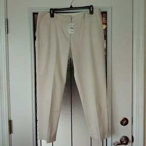 J. Crew Skimmer City Fit Pants